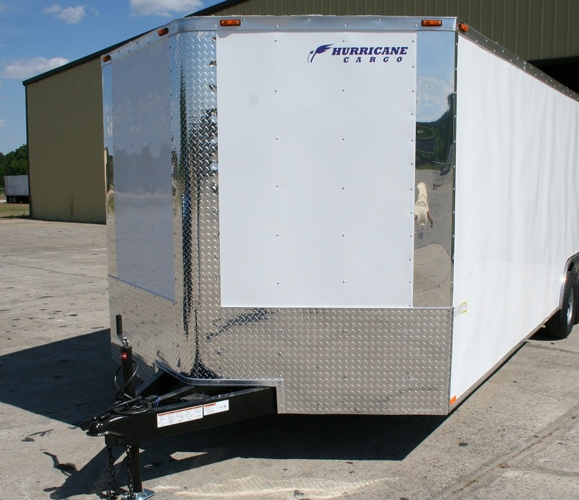 Trailer Ac Unit >> 8 5 X 20 Ta White Ac Enclosed Trailers For Lessenclosed