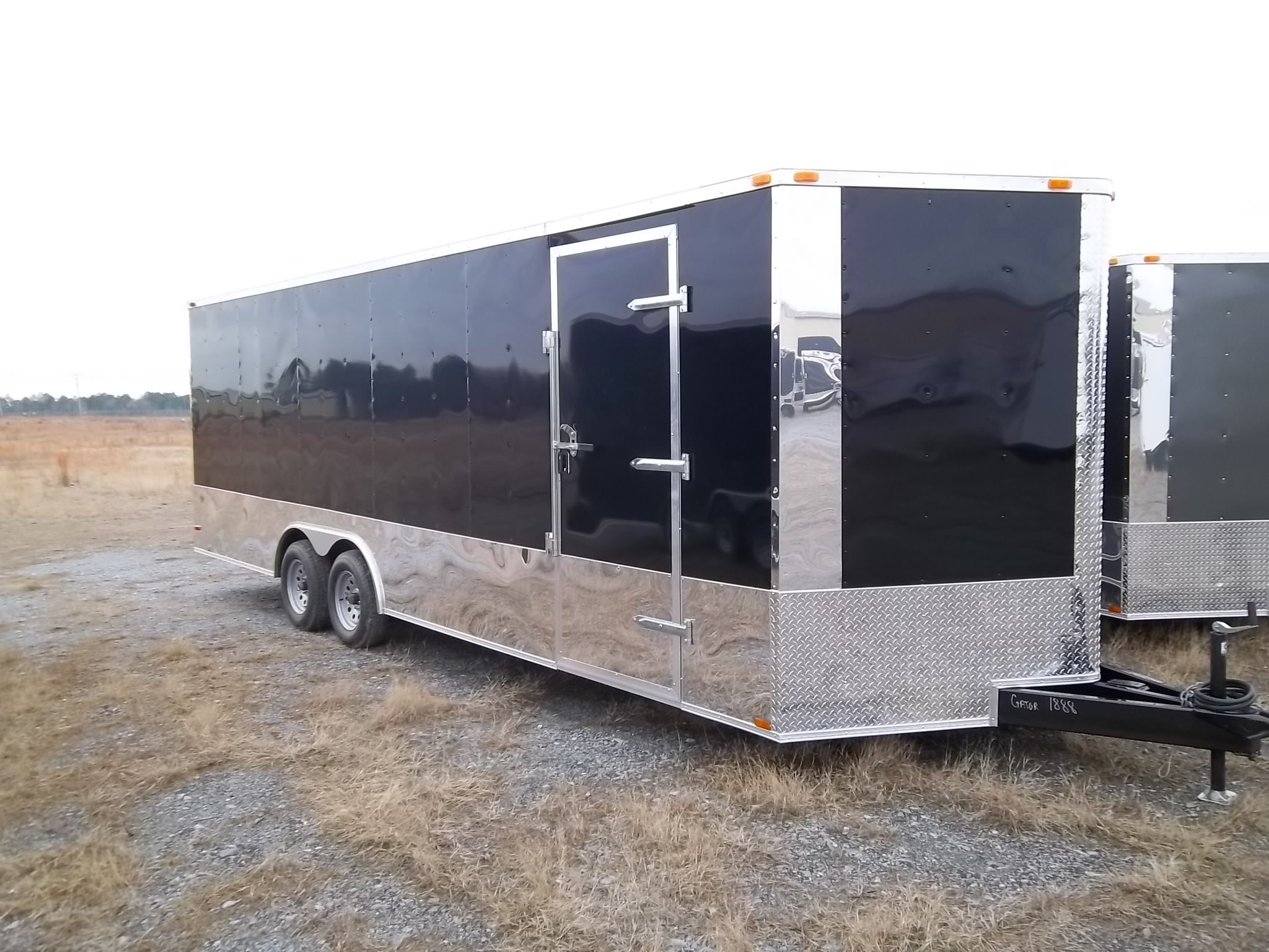 20′ Enclosed Auto Car Hauler Trailer 8.5 x 20 7k GVWR/GWR